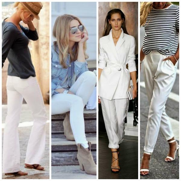 Zo draag je een witte broek