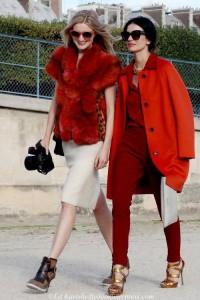 Rood is de kleur voor herfst winter 2015 2016