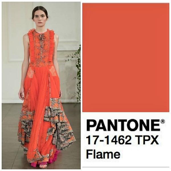 Modekleuren top 10 Pantone voorjaar-zomer 2017.